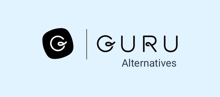 10 best guru knowledge base alternatives