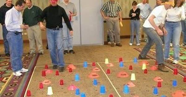 Minefield team building Game