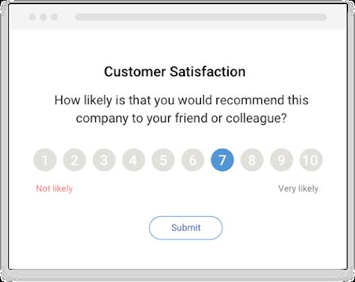 Customer satisfaction template
