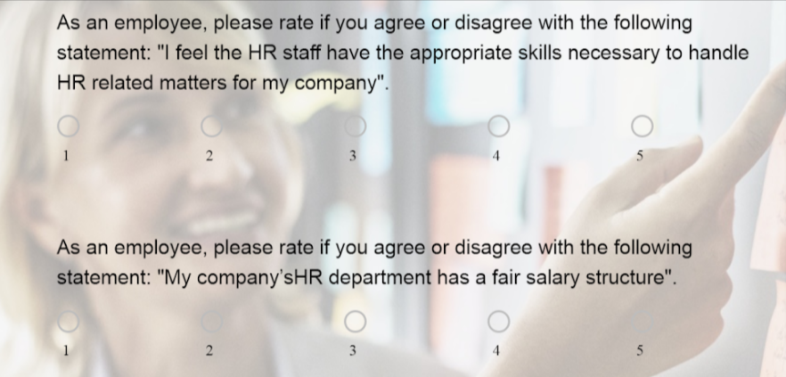 HR Satisfaction Survey Template