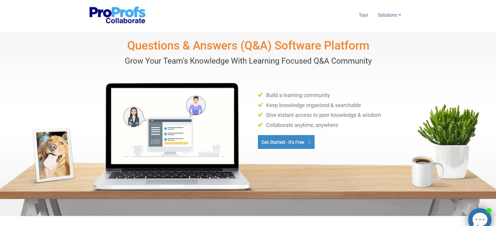 Q&A Software Platform