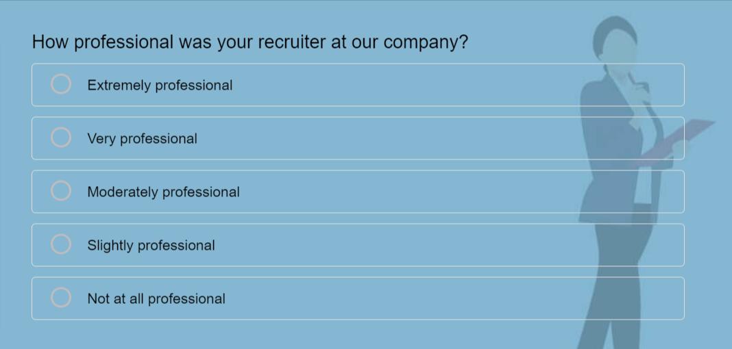 Recruitment Satisfaction Survey Template
