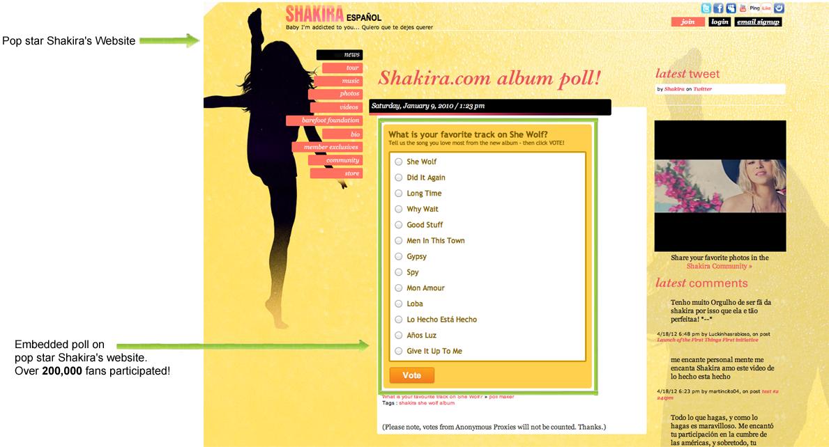 Free Online Poll Maker- Feature Tour - Proprofs Polls