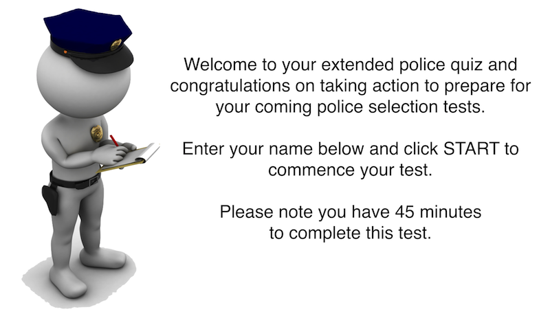 Extended Police Vault Quiz - Abstract And Verbal Reasoning 48 Hours