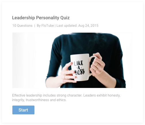 Create Personality Quizzes Online | Personality Test Maker