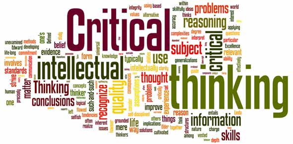 great critical thinkers Develop your critical thinking skills improve potential output considerably but it may also lead to the loss of skilled workers if the distance moved is too great a demonstration perhaps of the critical importance of good critical thinking.