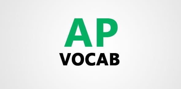 AP vocab Quizzes & Trivia