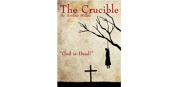 an analysis of the book and play of the crucible by arthur miller Arthur miller's play the crucible gives readers a history lesson on multiple levels the story takes place in salem, ma, beginning in spring 1692, and offers a telling portrayal of american colonial life at that time.