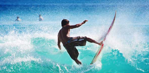 Surfing Quizzes, Surfing Trivia, Surfing Questions
