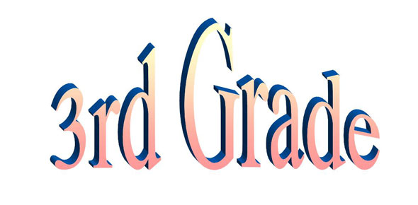 Image result for 3rd grade logo