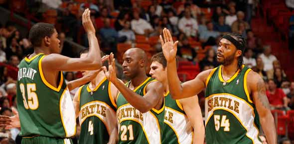 Seattle supersonics Quizzes, Seattle supersonics Trivia, Seattle supersonics Questions