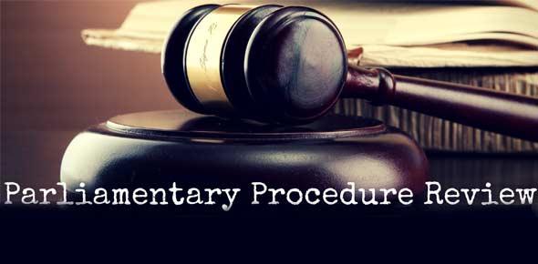 parliamentary procedure Quizzes & Trivia