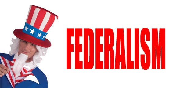 federalism questions Drug enforcement is an example of cooperative federalism, holding both federal and state governments responsible in upholding drug laws using federal agents and local police the education system employs similar cooperative federalism, with the federal government funding schools while allowing.