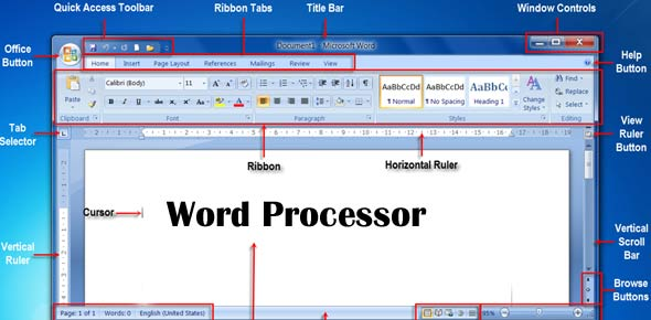 Word Processor Quizzes, Word Processor Trivia, Word Processor Questions