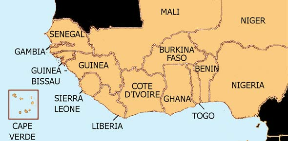 West African Capitals And Countries ProProfs Quiz - Guinea bissau map quiz