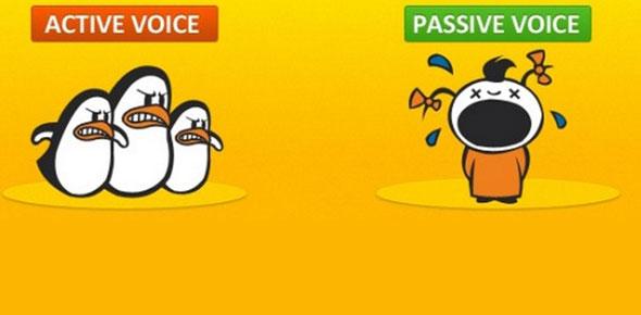 active and passive voice Quizzes & Trivia