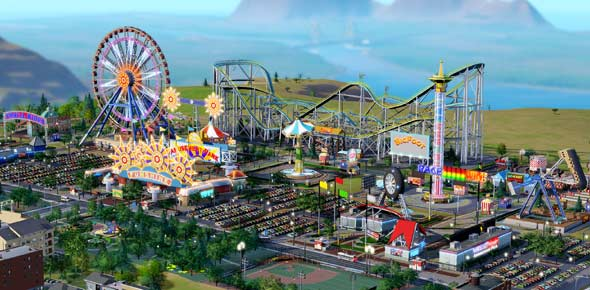 Amusement park Quizzes, Amusement park Trivia, Amusement park Questions