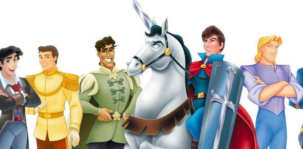 Top disney princes