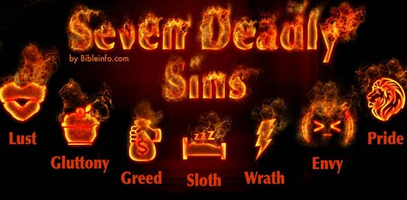 Seven Deadly Sins: Which One Are You?