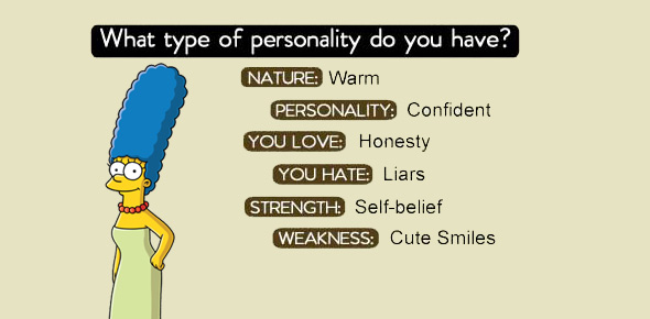 what type of personality do you have Quizzes & Trivia