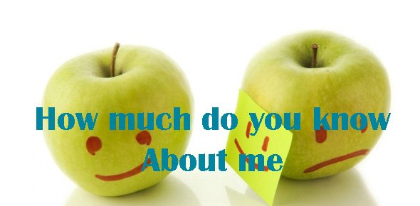 how much do you know about me Quizzes & Trivia