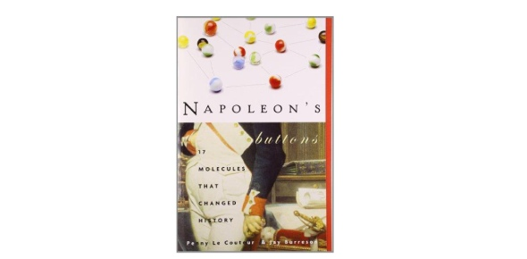 napoleon s buttons Editions for napoleon's buttons: how 17 molecules changed history: 1585422207 (hardcover published in 2003), 1585423319 (paperback published in 2004), (k.