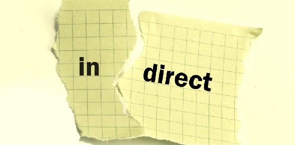 Direct and indirect Quizzes, Direct and indirect Trivia, Direct and indirect Questions
