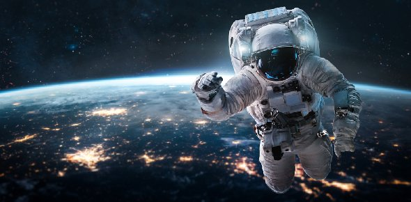 astronaut answers questions in space - photo #31