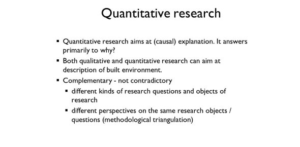 Quantitative Research Quizzes & Trivia