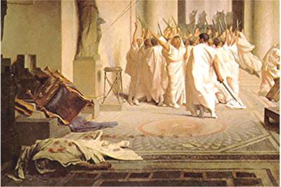 Quiz Over The Tragedy Of Julius Caesar