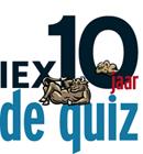Iex 10 Jaar - De Quiz