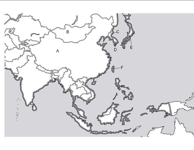 Asia Map Quiz - Ilike2learn.com