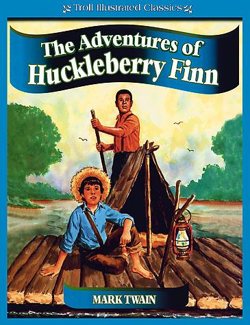 What lesson does Huck learn in The Adventures of ...