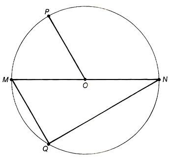 Adv.Math - Parts Of A Circle Homework