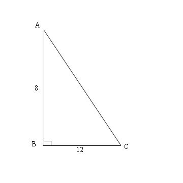 Unit 4 Right Triangles, Pythagorean Theorem Practice Test