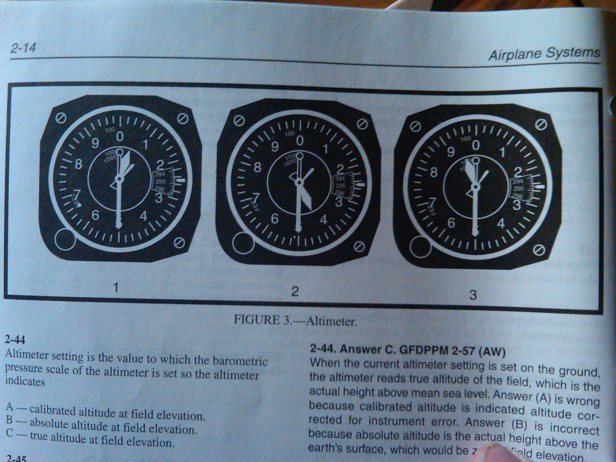 Flight Instruments Chapter 2 Section C