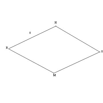 Rhombus And Square Properties - Version 1