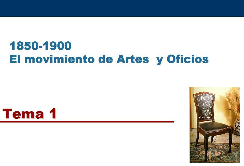 Historia Del Dise�o Industrial - Tema 1. Artes Y Oficios