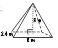 6 3 2 volume of prisms pyramids cones proprofs quiz. Black Bedroom Furniture Sets. Home Design Ideas