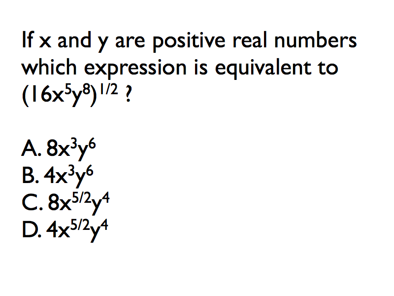 Multiplying Radicals & Rational Exponents