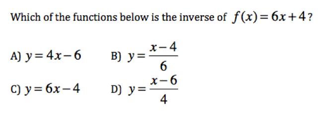 Algebra 2 Mid-term Exam