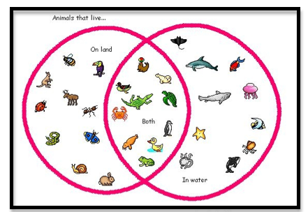 3:6:1 Using Venn Diagrams To Interpret Statements With And, Or, & Not