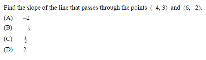 Algebra 2: Sect. 1.1 - 1.2 Test
