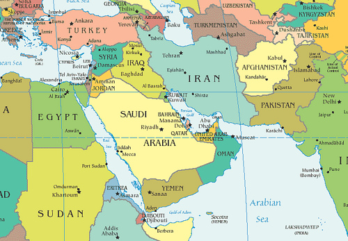 Middle East Map Test Modified Middle East Test Quiz   ProProfs Quiz