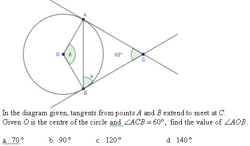Circle Properties And Coordinate Geometry I