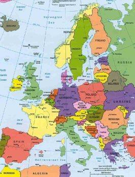 Europa W Piguce - Pierwsze Skojarzenie