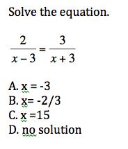 Algebra II Final Exam Practice Quiz 3