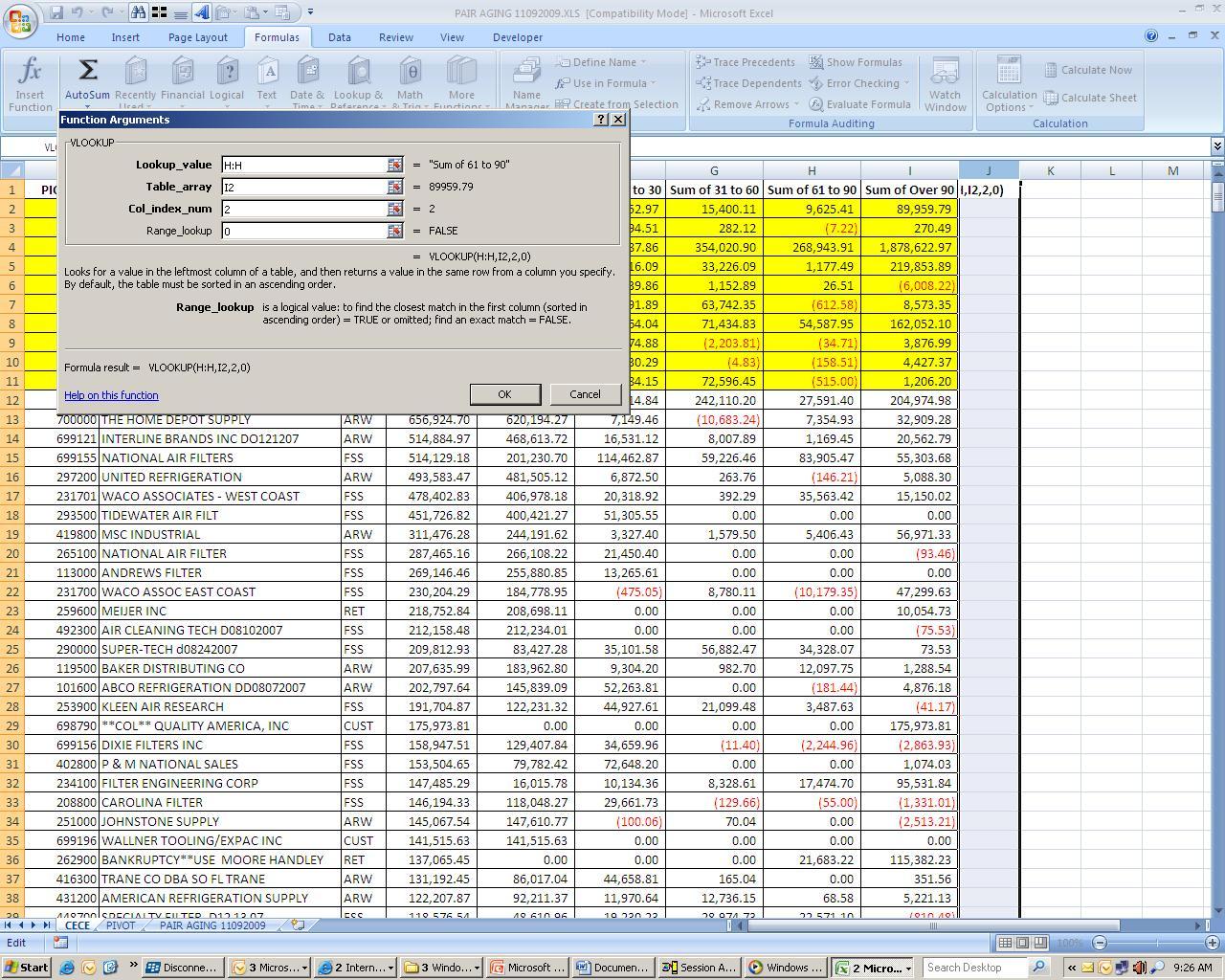 MS Excel 2003 Proficiency Quiz: Trivia!