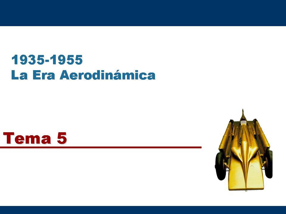 Historia Del Dise�o Industrial - Tema 5. La Era Aerodin�mica