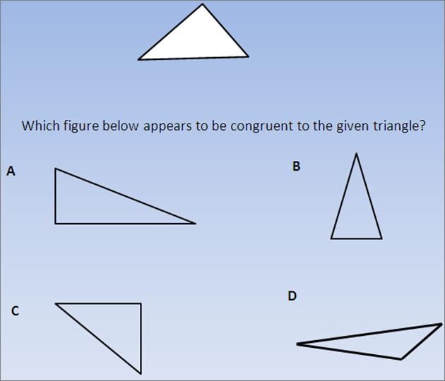 Isat Practice Quiz 1 : Geometry